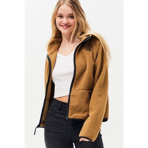 The North Face Jackets Coats The North Face Dunraven Sherpa Crop Jacket L Nwt Poshmark